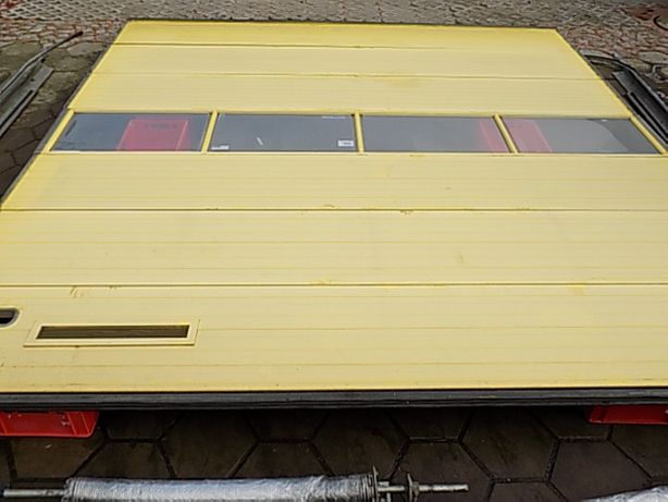 Brama panelowa, segmentowa ,garażowa 405x416cm