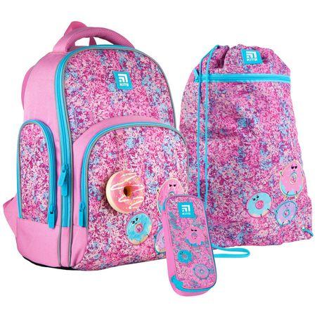 Набір set_k21-706m-2рюкзак + пенал + сумка для взуття Kite 706M Donuts