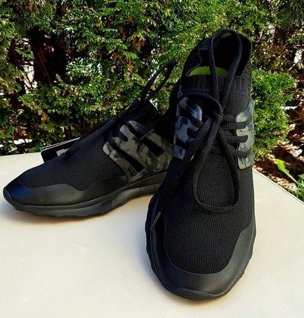Buty sportowe czarne z tkaniny technicznej profilowane roz 41 i 42