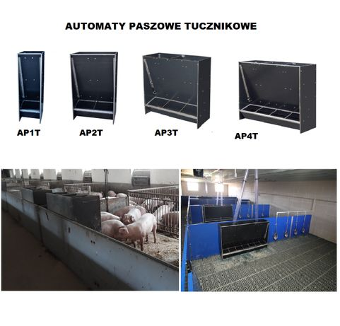 DWUSTANOWISKOWY automat Paszowy tucznikowy na sucho AP2T