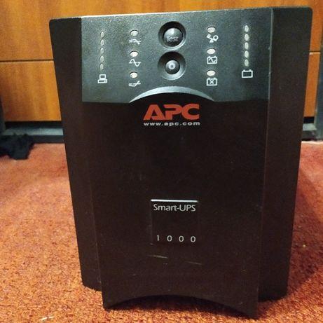 ИБП Бесперебойник APC Smart-UPS 1000VA , для компьютера и техники