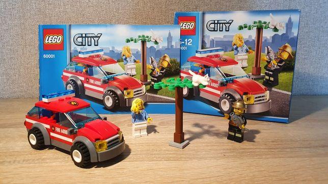 LEGO 60001 Автомобиль начальника пожарной охраны