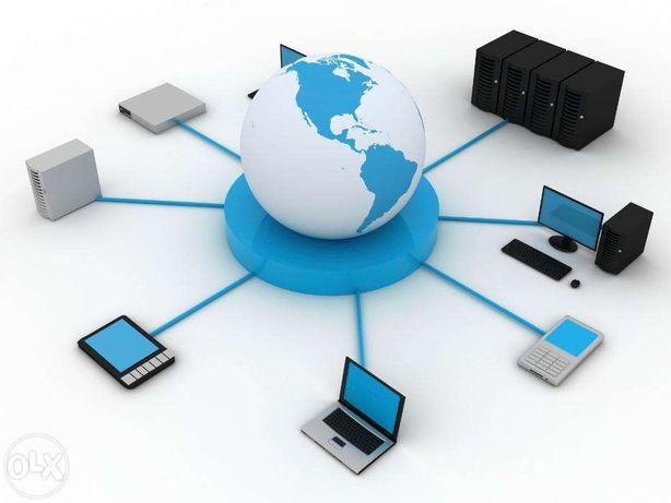 Локальные сети, СКС, WiFi в офис, ресторан, отель. Прокладка оптики