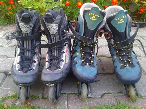 роликові коньки ролики 44 41 розмір лижні ботинки