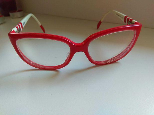 Óculos Vintage Vermelhos Moschino