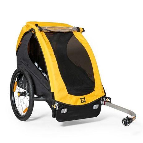 Przyczepka rowerowa Burley Bee single żółta NEW 2021 Wysyłka gratis