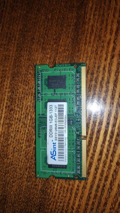 ОЗУ / оперативна пам'ять DDR3 для нетбука ,та DDR1 для ПК Житомир - изображение 1