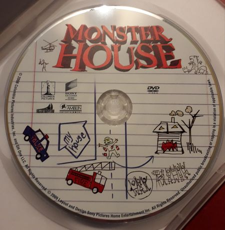 "Bajka ""Monster House"" na dvd"