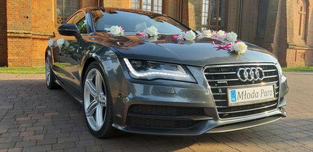 Auto do ślubu Audi A7 S-line
