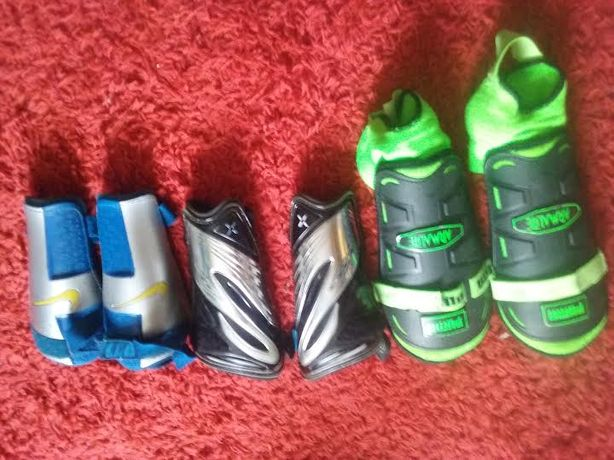 Nakolanniki Puma - Nike i śrebrne