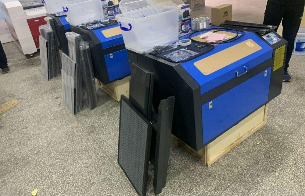 Máquina a laser co2 50w M2 (400x600mm) - Corte e Gravação Nogueira, Fraião E Lamaçães - imagem 1