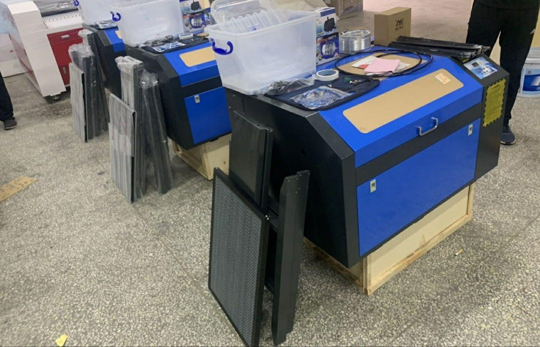 Máquina a laser co2 50w M2 (400x600mm) - Corte e Gravação