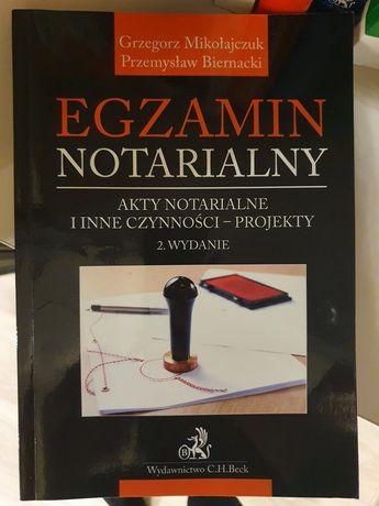 Egzamin notarialny, Akty notarialne i inne czynności - projekty