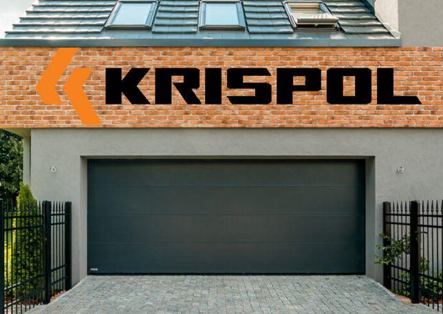 Brama garażowa segmentowa przemysłowa Krispol MONTAŻ CAŁA PL