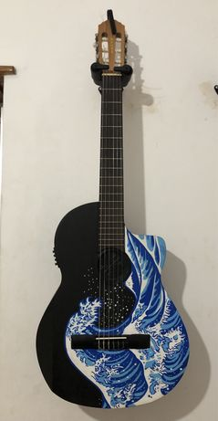 Guitarra electroacústica + extras (oferta completa)