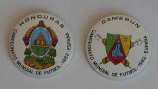 Crachás do Mundial de Futebol de 1982