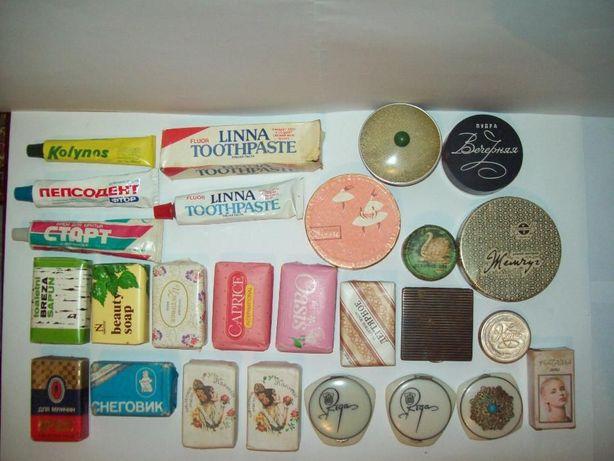 Косметика мыло пудра про-во СССР