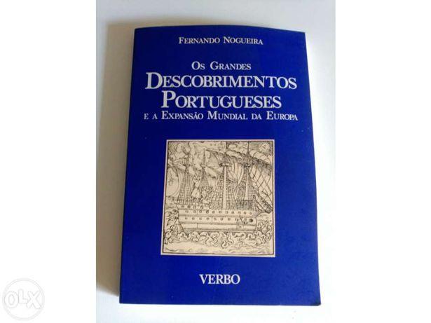 Os Grandes Descobrimentos Portugueses, de Fernando Nogueira