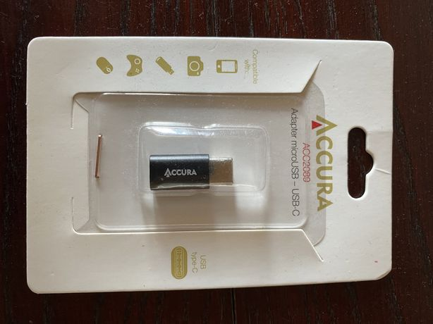 Adapter micro usb - usb c