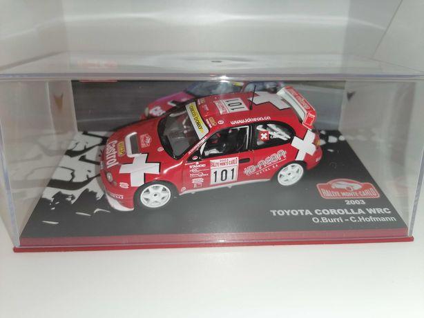 ALTAYA Toyota Corolla WRC Burri Rally Monte Carlo 2003