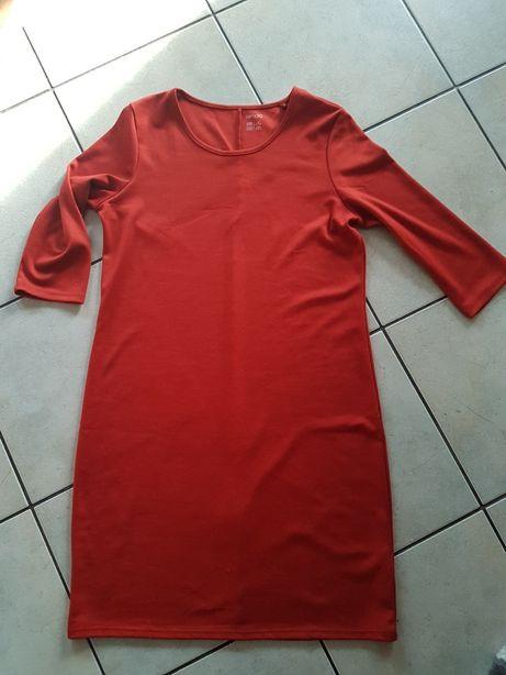 Sukienka 42 blada czerwien