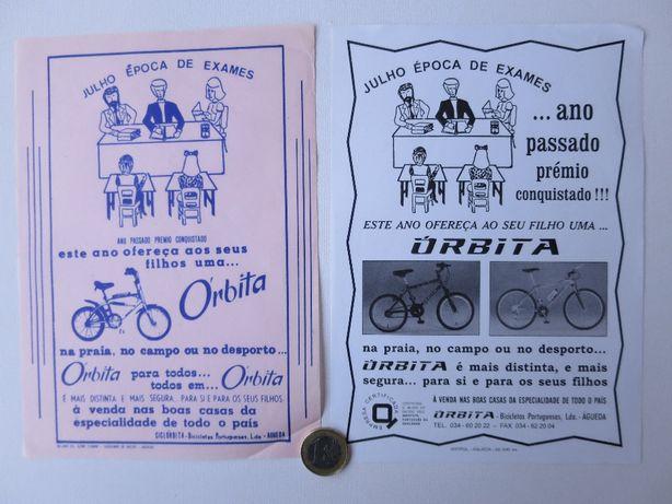 Folhetos bicicletas Órbita tipo BMX Montanha antigo