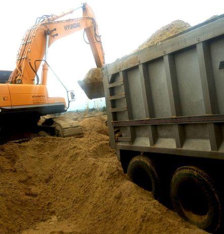 Песок, щебень, подсыпка в Харькове с доставкой