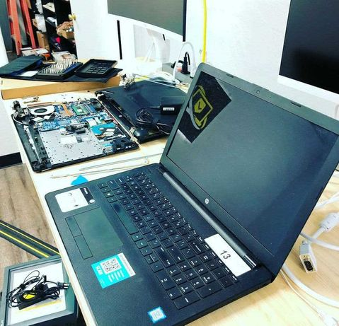Ремонт компьютера и ноутбука на дому. Переустановка Виндовс (Windows)