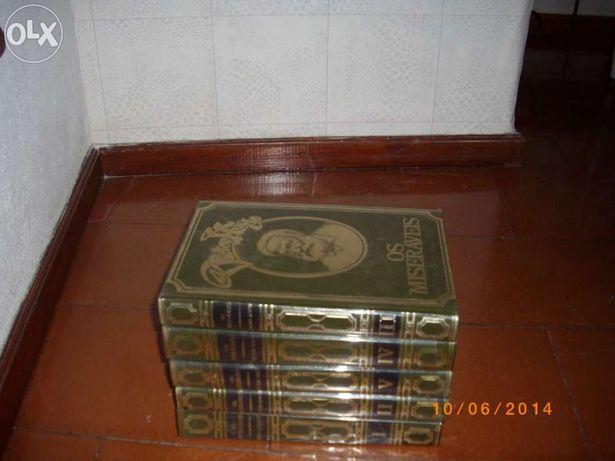 Livros colecção victor hugo