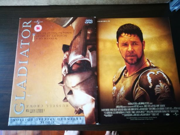 Gladiator (Edição Especial PACK 3 DVD's - INGLÊS)