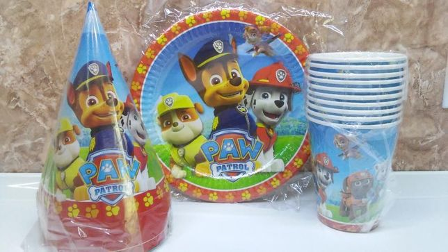 """набор посуды """"щенячий патруль"""""""