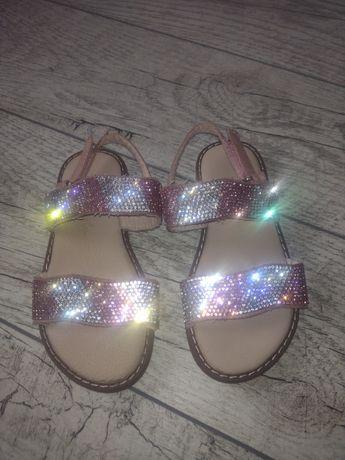 Sandałki dziewczęce roz 27