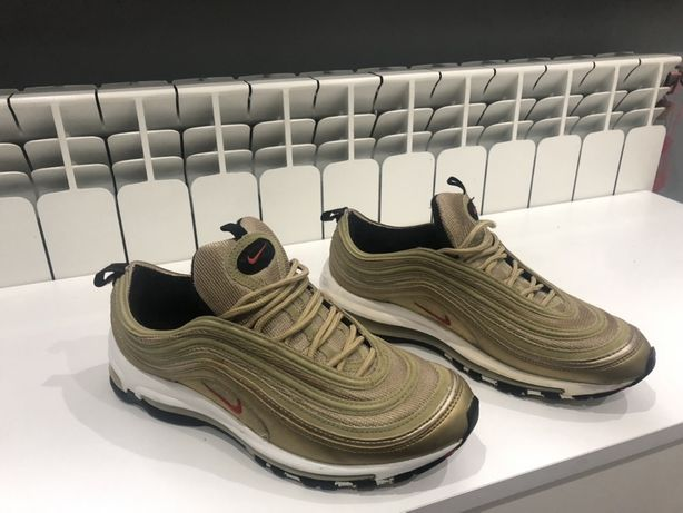 Orginały Buty Nike Air Max 97 OG QS Metallic Gold 2017 r. 44