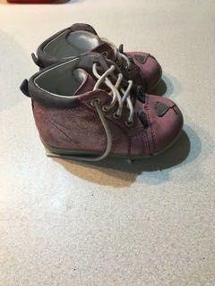 Buty półbuty skórzane dziewczynka r.19