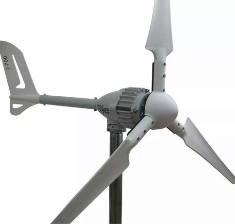 Conjunto gerador eolico  i700W 48V + 850W 48V controlador híbrido