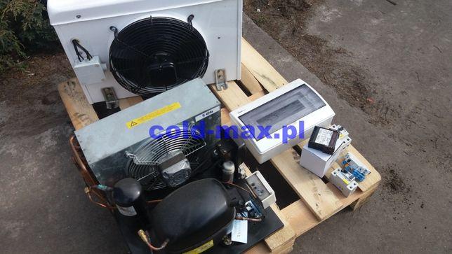 Agregat chłodniczy parownik komplet używany zestaw do chłodni 20m3