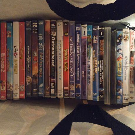 Coleção de  DVDs