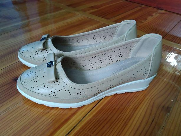Балетки, балерини  туфлі/ туфли  36 р. девочке