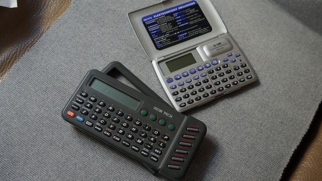 Dwa organizery elektroniczne Zeon Tech i G-lab retro