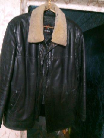 Куртка Кожаная Зима Осень Весна
