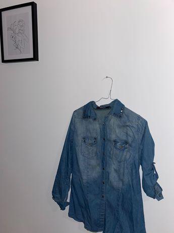 Camisas de ganga