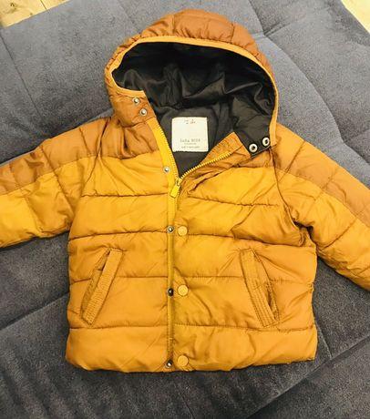 Zara kurtka zimowa dla chłopca