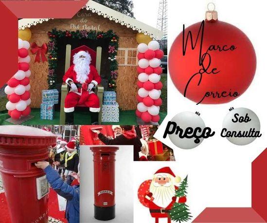 mascotes Natal, trenó Natal, cadeirão Natal, canhão neve, insufláveis,