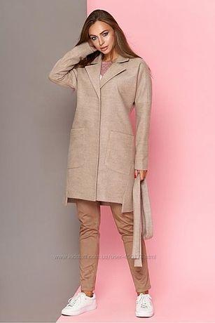 Стильный, оригинальный кардиган-пальто