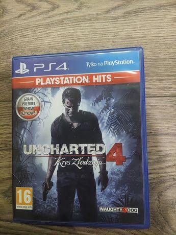 Gra PlayStation PS4 Uncharted 4 Kres Złodzieja