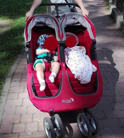 Wózek Baby Jogger city mini, podwójny, bliźniaki, dla bliźniąt