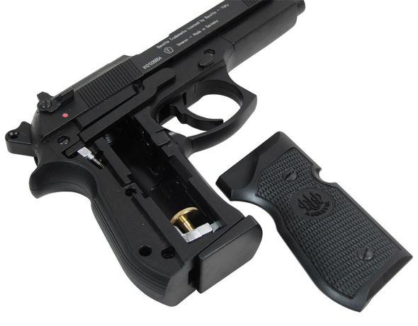 90 01 Wiatrówka Beretta M92FS 4,5 mm Black + Gratis 4 naboje CO2