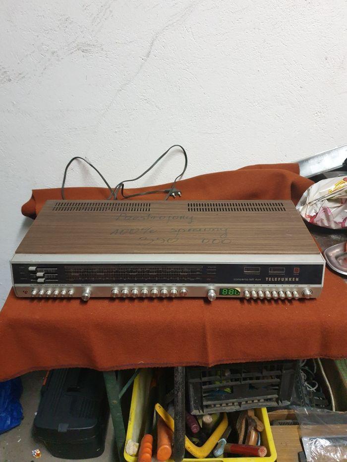 Telefunken Concerto hifi 404 amplituner 100% Sprawny Wrocław - image 1