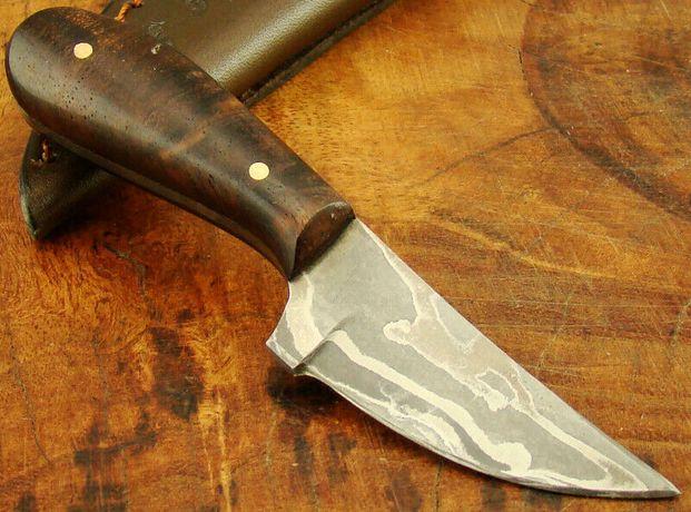 Alister unikalny mini nóż damast damasceńskiej 08