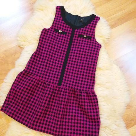 Sukienka dzianina wełna Zara Kids 164cm (13-14Y)